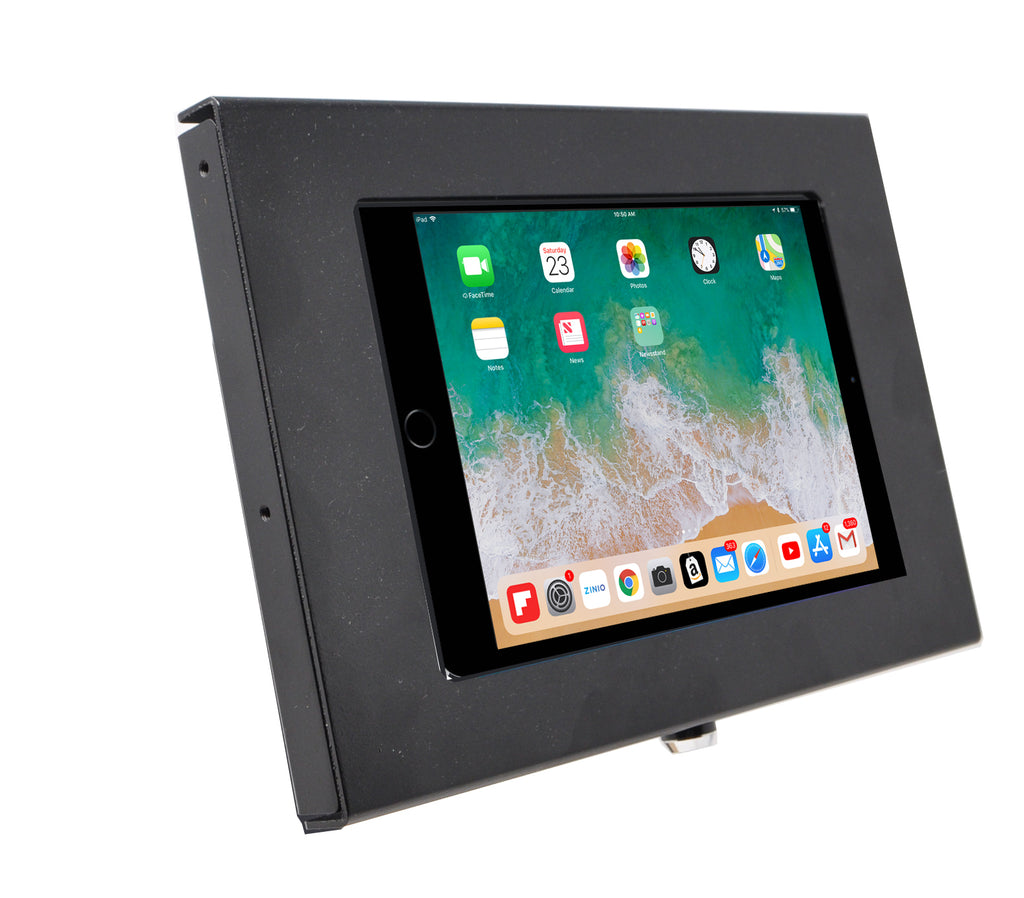 Apple iPad mini Security Wall Mount Metal Enclosure VESA Ready