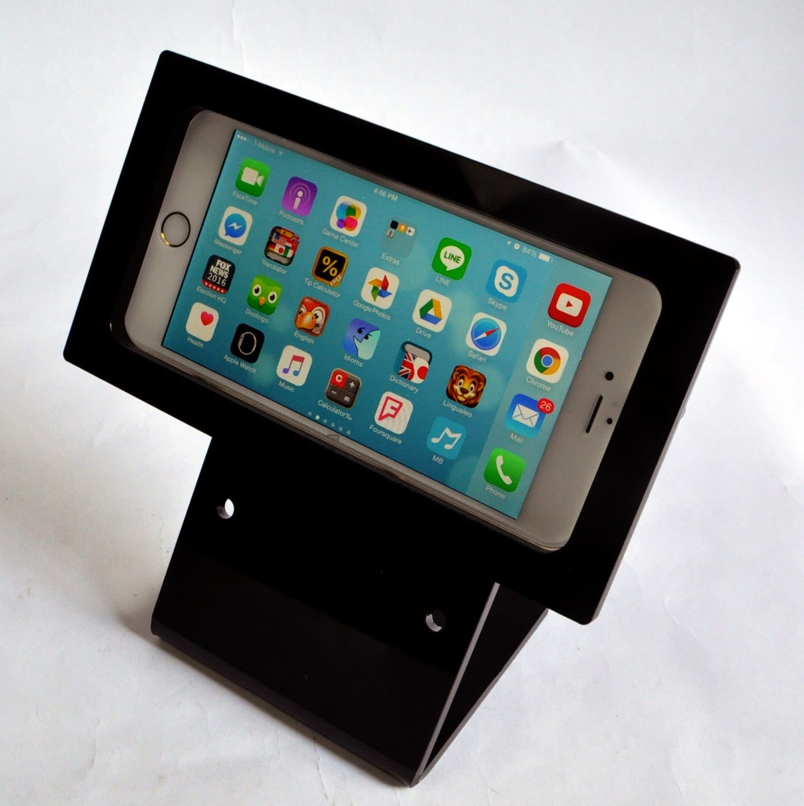 iPhone 6/7 Plus Security VESA Kit with Desktop Stand