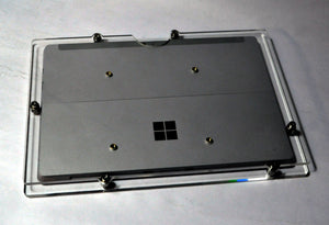 Microsoft Surface 3 Acrylic Security  Enclosure VESA Ready