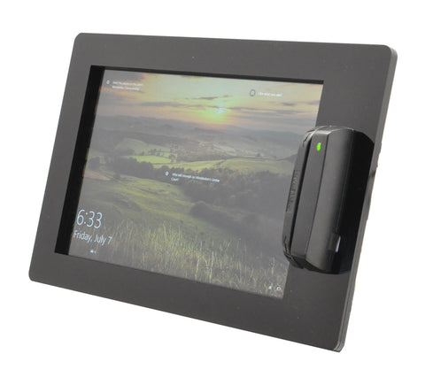 POS Kiosk Kit for Windows based Tablet with USB Swipe Card Reader Mount supports Magtek Dynamag