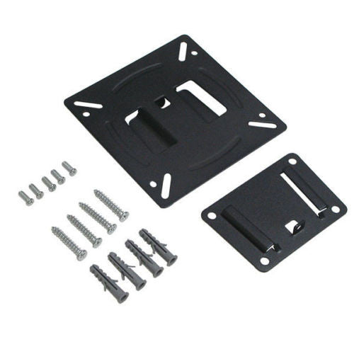 Anti-Theft Low Profile VESA Wall Mount Kit for LCD/LED TVs, Displays, Tablets