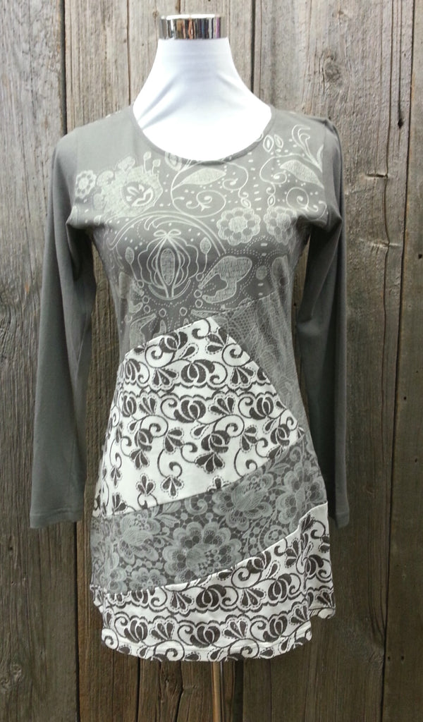 Patch Print Tunic