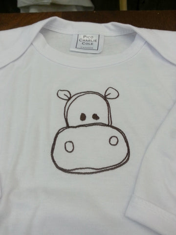 Embroidered Baby Onesie or T's