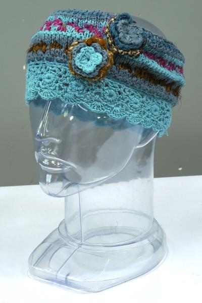 Crocheted Hats & Headbands