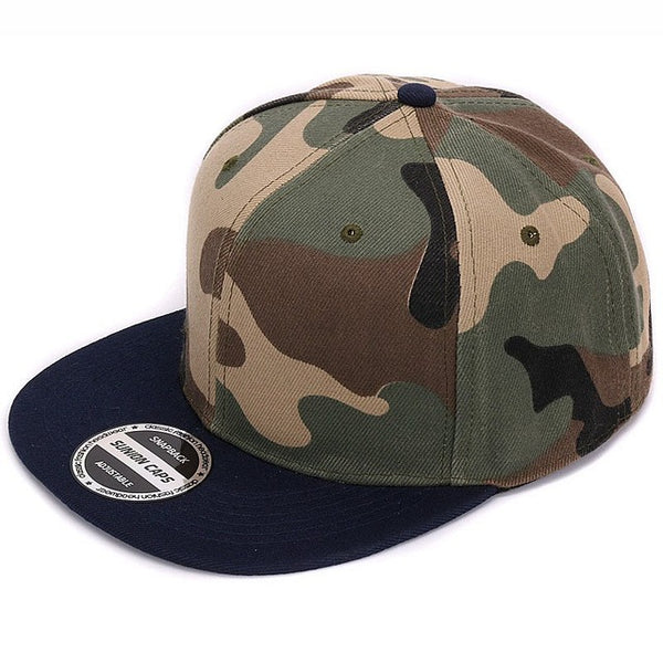 Camouflage Snap Back