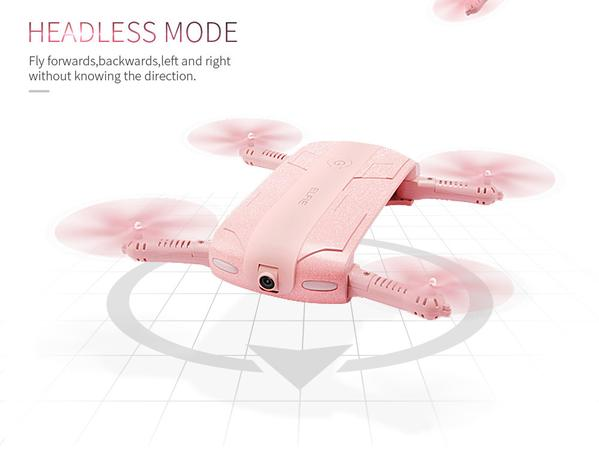 Limited Edition Pink WiFi Selfie Drone