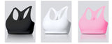TAKE A MESH WHITE SPORT BRA