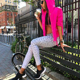 RISA Fitness Leggins Leopard Print Compression