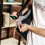 ANTI-THEFT TRAVEL BACKPACK USB CHARGER