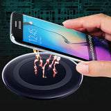 Universal Qi Wireless Charger Charging Pad Mobile Phone Adapter Wirless Charge Dock Station +Receiver for Samsung Galaxy S7 S6 5