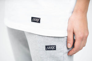 ARKK Apparel ARKK Box Logo Sweatpants Snow Melange Sweatpants