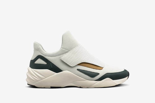 ARKK Copenhagen - Main Line Apextron Mesh W13 Off White Pine Green - Men Apextron Off White