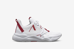 ARKK Copenhagen - Main Line Asymtrix Mesh F-PRO90 White Haute Red - Men Asymtrix White Haute Red