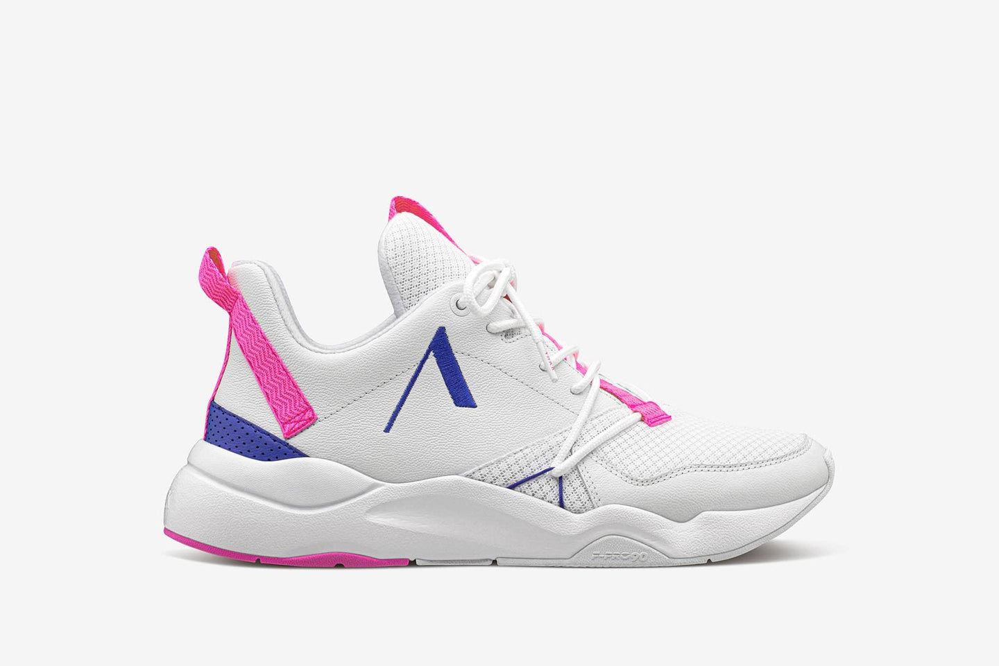ARKK Collection Asymtrix Mesh F-PRO90 White Vivid Pink - Women Asymtrix White Vivid Pink