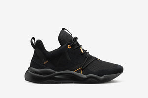 ARKK Copenhagen - Superior Line Asymtrix Suede F-PRO90 Black Mock Orange - Men Asymtrix Black