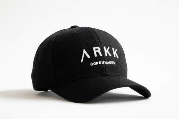 ARKK Accessories Baseball Cap Black White Cap