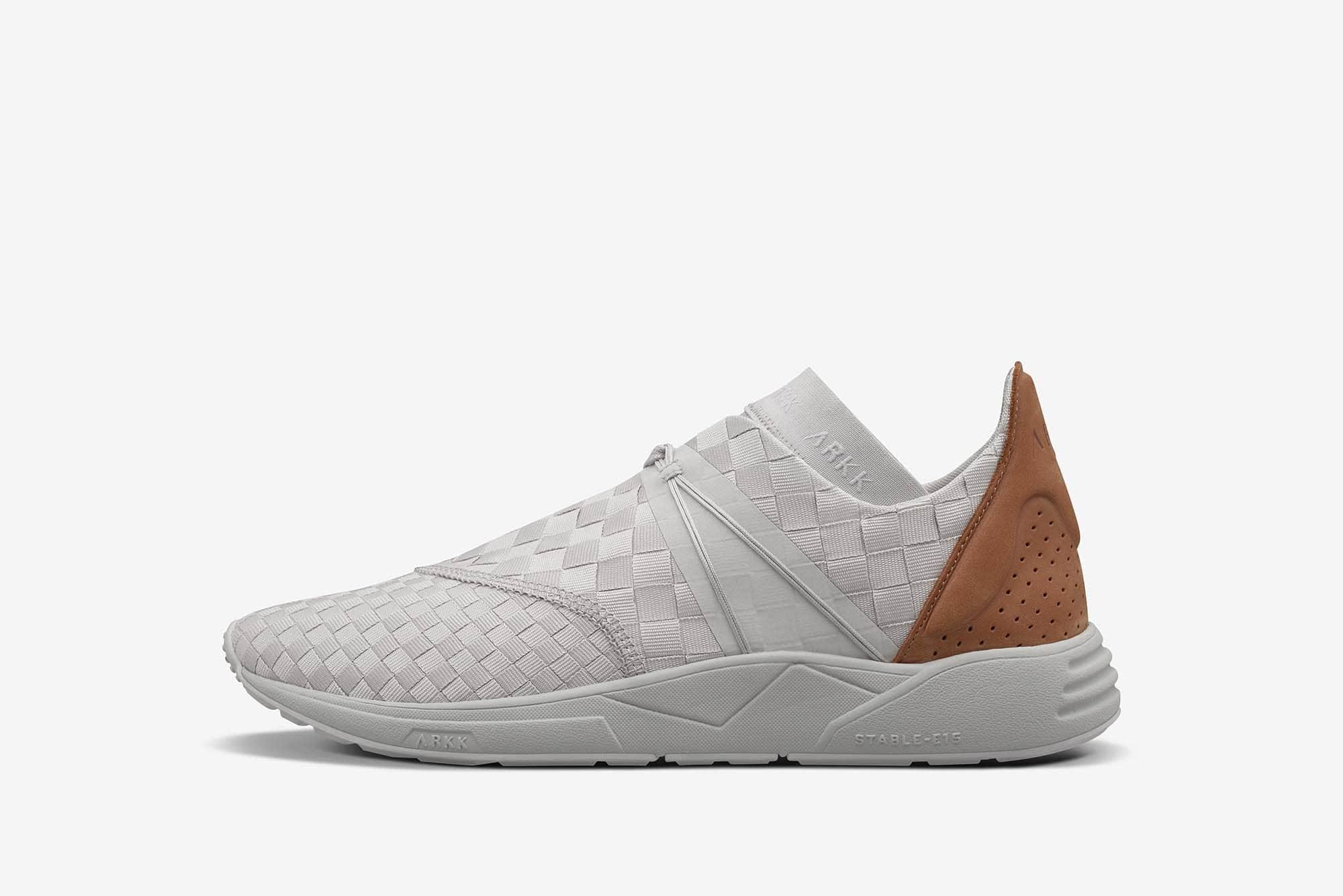 ARKK Copenhagen - Main Line Eaglezero Braided S-E15 Wind Grey Brown-Women Eaglezero Wind Grey