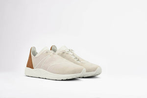 ARKK Collection Eaglezero Suede S-E15 Off White Brown - Men Eaglezero Off White