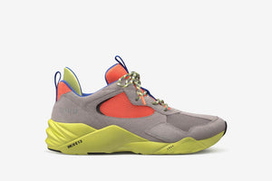 ARKK Collection Kanetyk Suede W13 Ash Neon Lime - Men Kanetyk