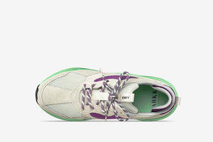 ARKK Collection Kanetyk Suede W13 Off White Neo Mint - Women Kanetyk Off White Neo Mint