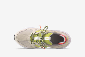 ARKK Collection Kanetyk Suede W13 Off White Neon Lime - Men Kanetyk