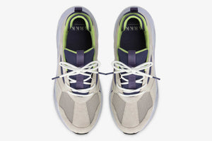 ARKK Copenhagen - Essential Line Kanetyk Suede W13 Wind Grey Bright Blue - Men Kanetyk Wind Grey