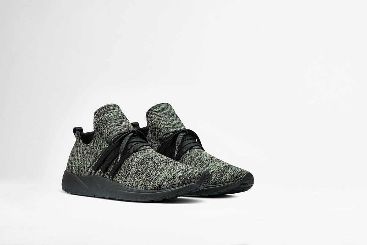 ARKK Copenhagen - Main Line Raven FG 2.0 S-E15 Disrupted Camo Earth - Men Raven Black