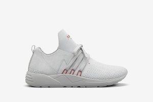 ARKK Copenhagen - Main Line Raven FG 2.0 S-E15 Disrupted Light Grey Burnt Red - Women Raven Light Grey