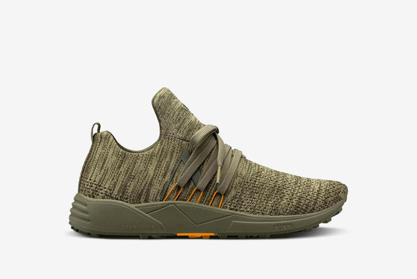 ARKK Collection Raven FG S-E15 Vibram® Disrupted Dark Olive Burnt Orange-Men Raven Dark Olive