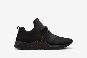 ARKK Copenhagen - Essential Line Raven Mesh S-E15 Black Orange - Men Raven Black