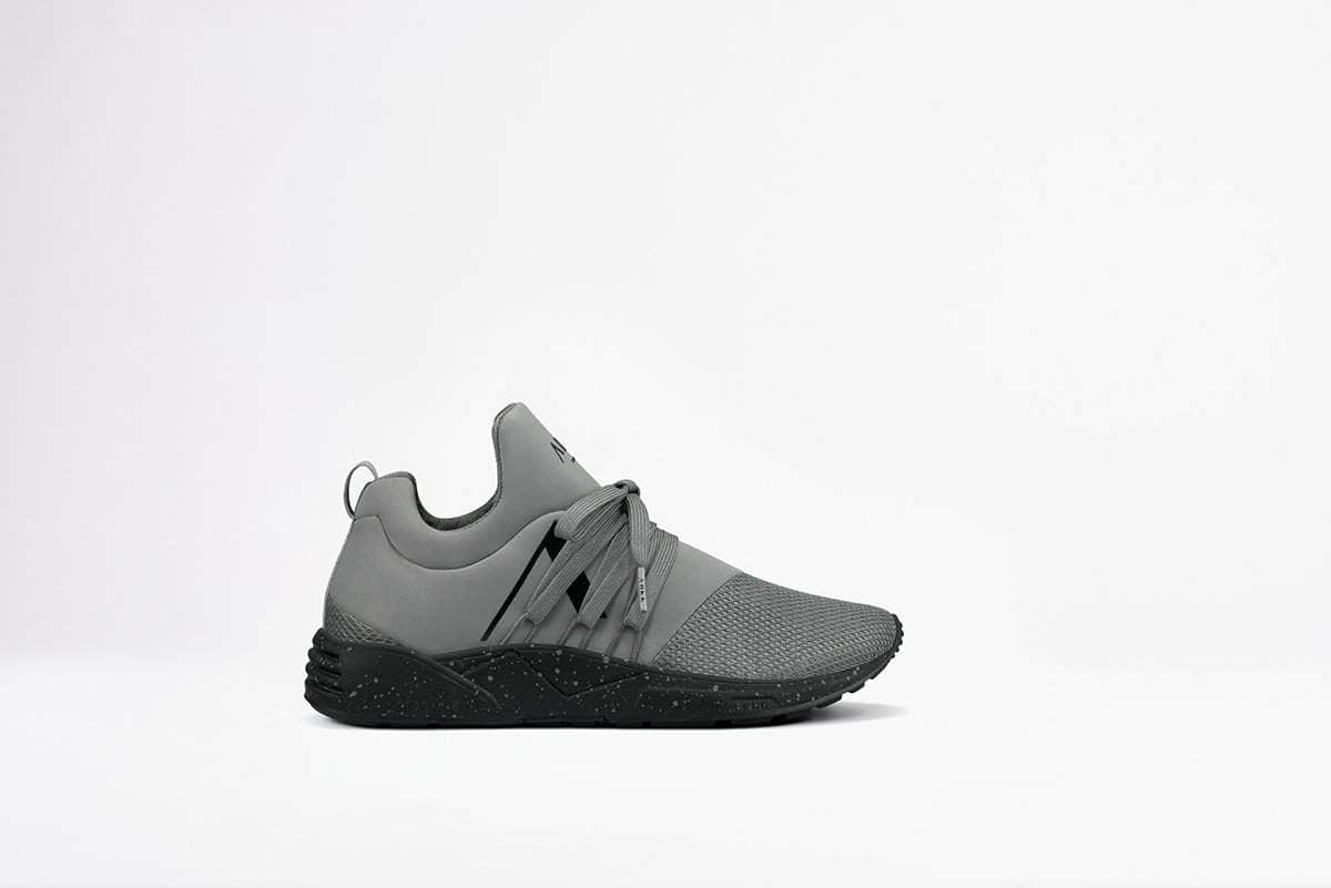 ARKK Copenhagen - Main Line Raven Mesh S-E15 Grey Black Spray - Men Raven Grey