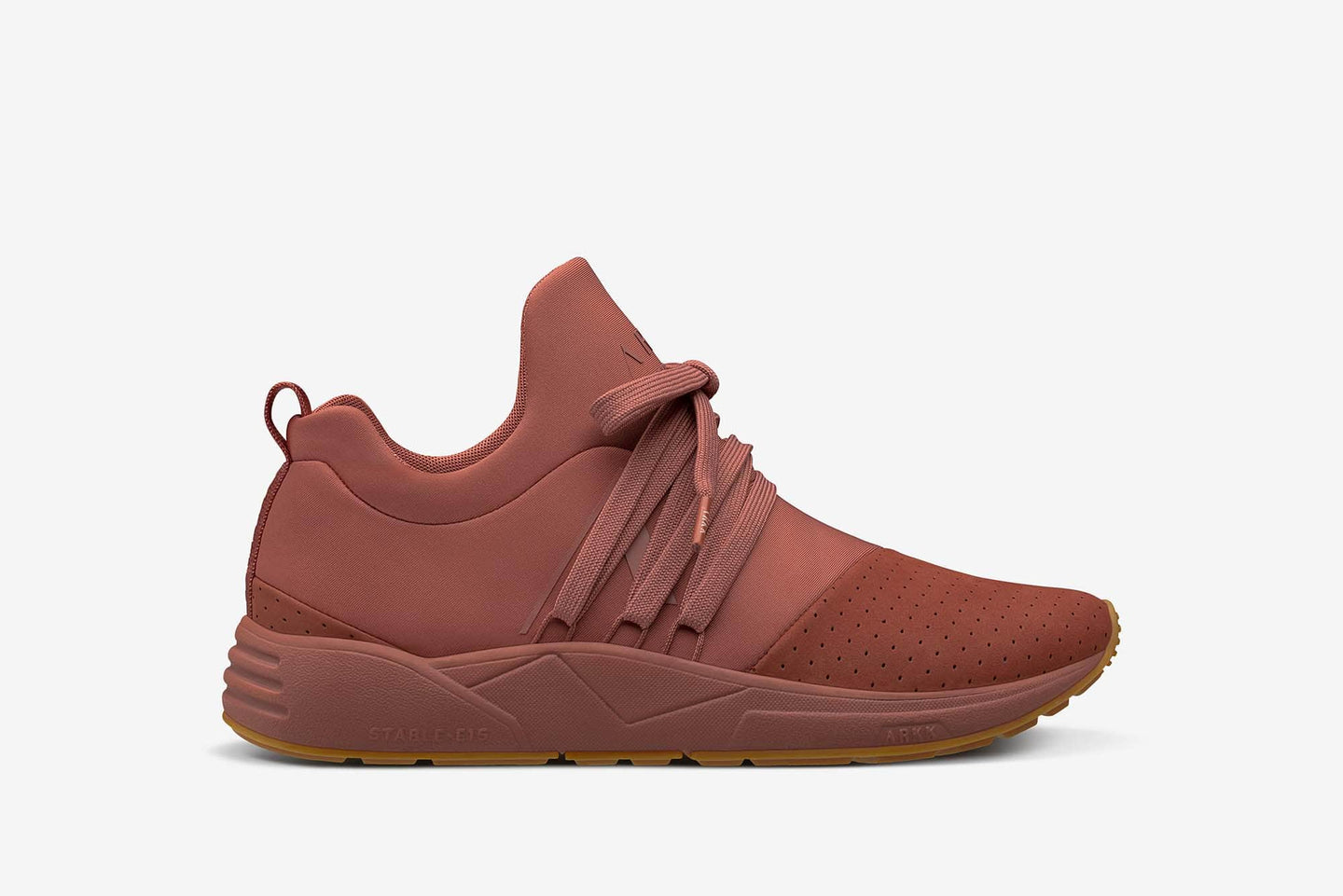 ARKK Copenhagen - Main Line Raven Nubuck S-E15 Reddish Brown Gum - Women Raven Reddish Brown Gum