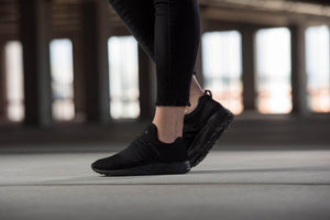ARKK Collection Raven Nubuck S-E15 Triple Black - Women Raven Black