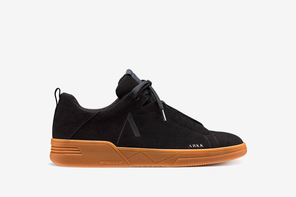 NOS Uniklass Suede S-C18 Black Gum - Men Uniklass Black Gum