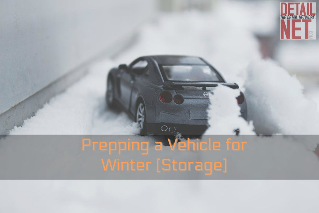 Preparing a Vehicle for Winter [Storage]
