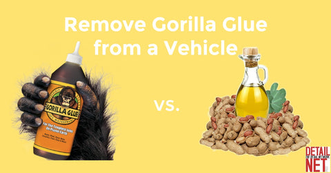 Gorilla Glue removal with peanut oil