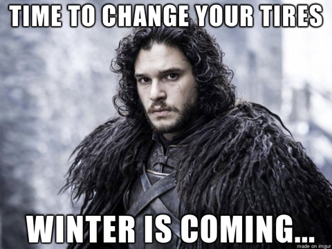 Winter is Coming Meme in Preparing your vehicle for winter [storage] post