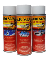 Auto Scent Odor Bomb Air Freshener - Aerosol 6.25 oz 5 fragrances