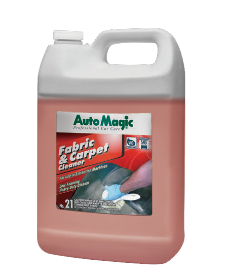 Auto Magic Fabric & Carpet Cleaner (1 gallon), for us with extractor machines