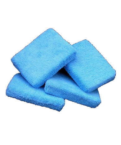 Microfiber Wax Applicator Square