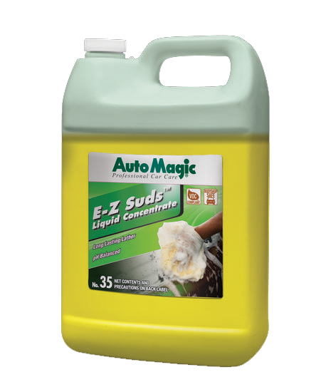 Auto magic E-Z Suds Liquid car wash shampoo gallon.