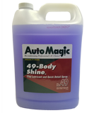 Auto Magic's 49 Body Shine quick detail spray and clay lubricant. gallon