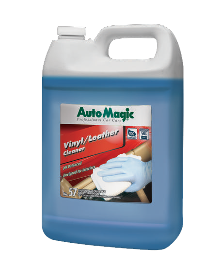 Auto Magic Vinyl & Leather Cleaner 1 gallon.