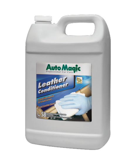 Leather Conditioner w/Lanolin 1 Gallon - Auto Magic