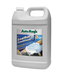 Auto Magic Leather Conditioner with Lanolin 1 Gallon