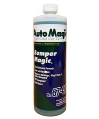 Auto Magic's Bumper Magic Trim Restorer 32 oz.