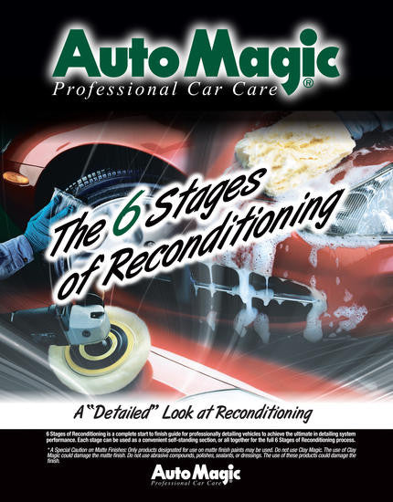 The 6 Stages of Reconditioning Training Manual - Auto Magic