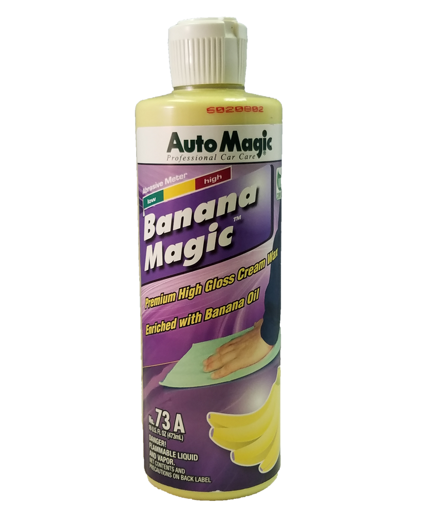 Banana Magic Carnauba Wax 16oz - Auto Magic