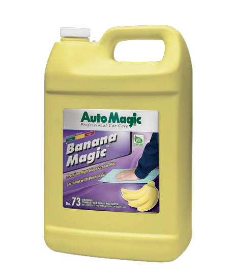 Banana Magic Carnauba Wax Gallon - Auto Magic