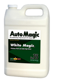 Auto Magic White Magic cleaner wax in 1 gallon.